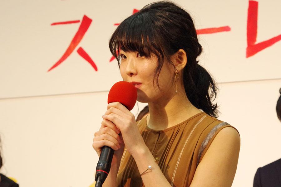ロケ地の滋賀県に対して、「育った場所って特別な場所になるので、心から大好きになれたらいいな」と福田麻由子