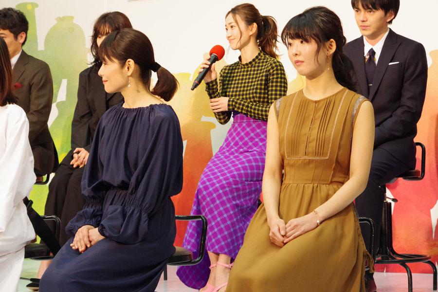 2017年から海外に語学留学し、昨年帰国した大島優子。帰国後初となるドラマ出演が朝ドラに