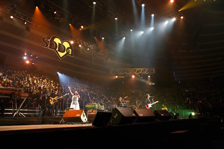 名曲『ら・ら・ら』を熱唱し、一体となる会場(23日・大阪城ホール)写真:LIVE SDD 2019 official Photo