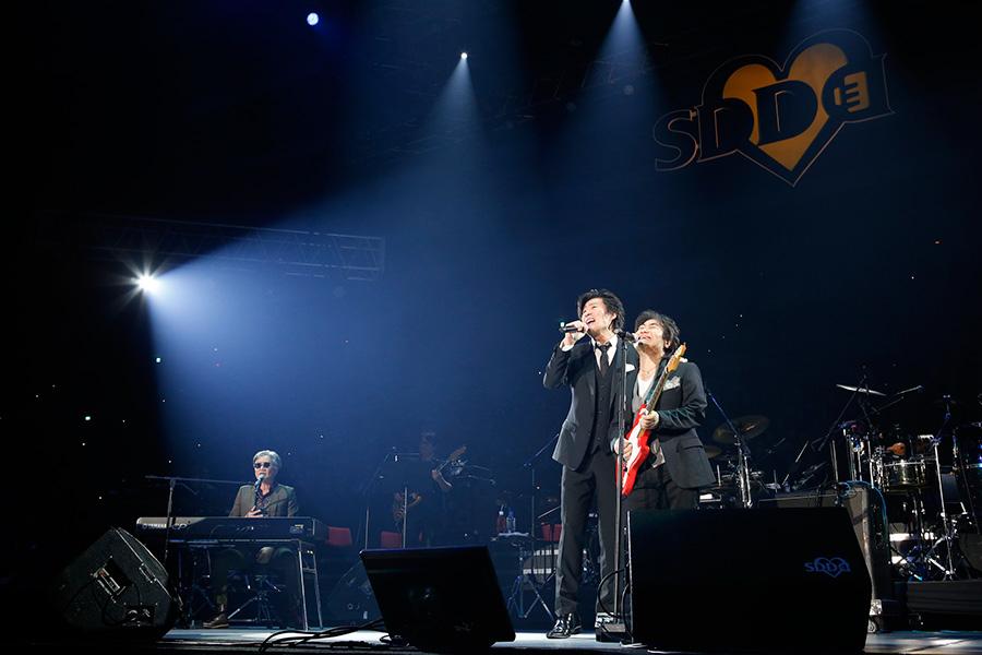 Skoop On Somebodyと競演したスターダスト・レビュー(23日・大阪城ホール)写真:LIVE SDD 2019 official Photo