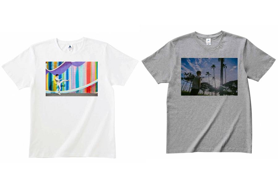 Tシャツ(ホワイト・グレー/SMLサイズ)各3800円