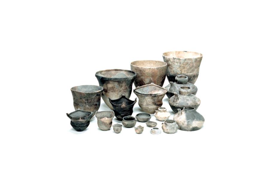 縄文時代後期の土器(佃遺跡 淡路市出土)