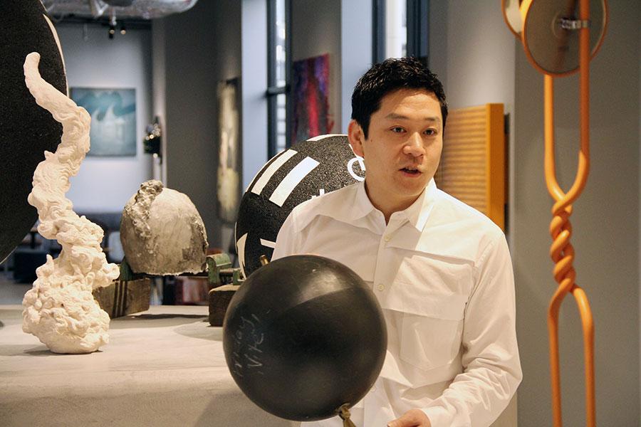 同店のディレクションを手掛けた「SANDWICH」代表の名和晃平