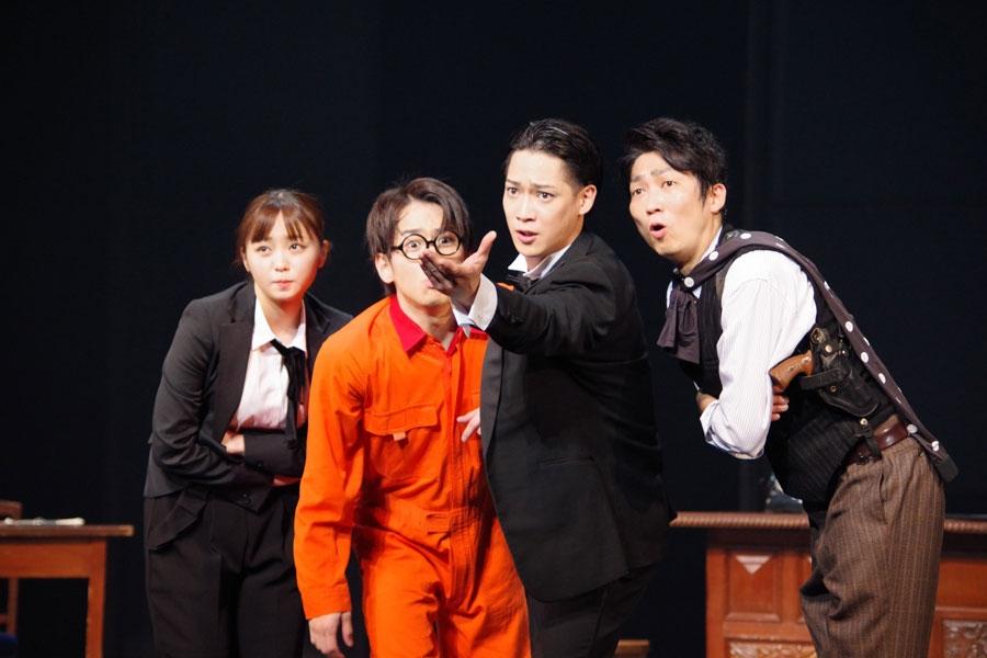 『熱海殺人事件 LAST GENERATION 46』大阪公演ゲネプロより (3月28日・TTホール)
