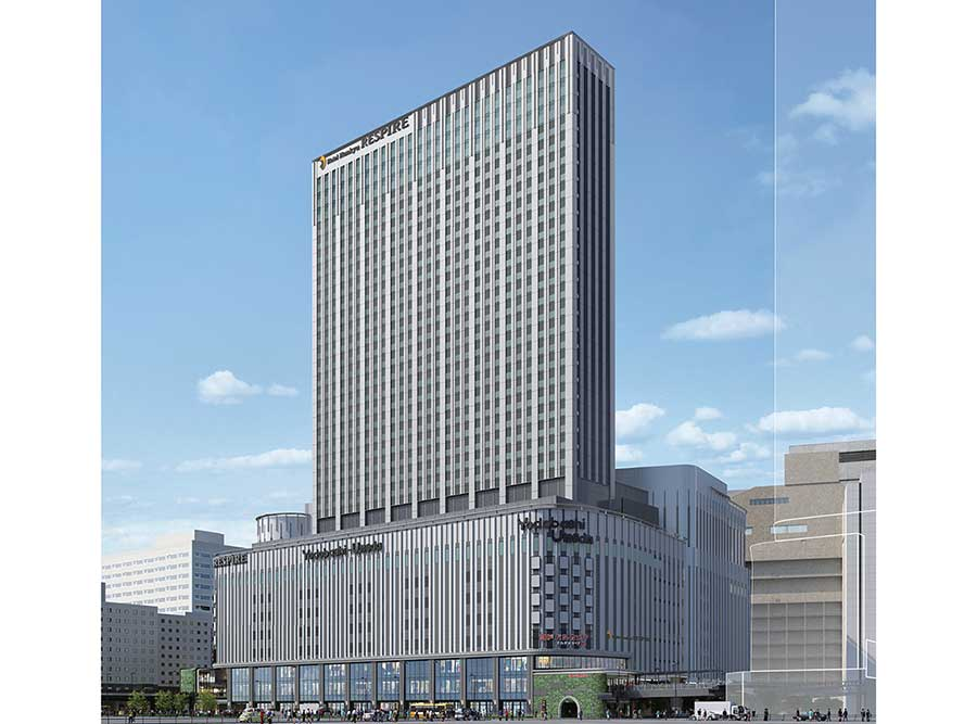 阪急梅田駅、JR大阪駅すぐ。グランフロント大阪南館の東側に位置するビル内にオープン(イメージ図)