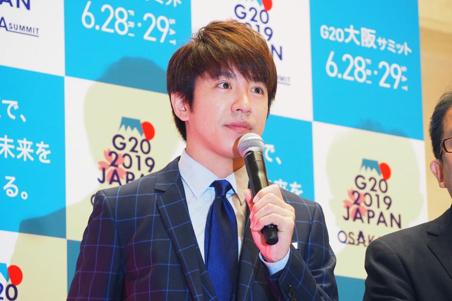 「大阪は食事だけじゃないぞというところをアピールしたい」と話す村上信五(20日・大阪市内)