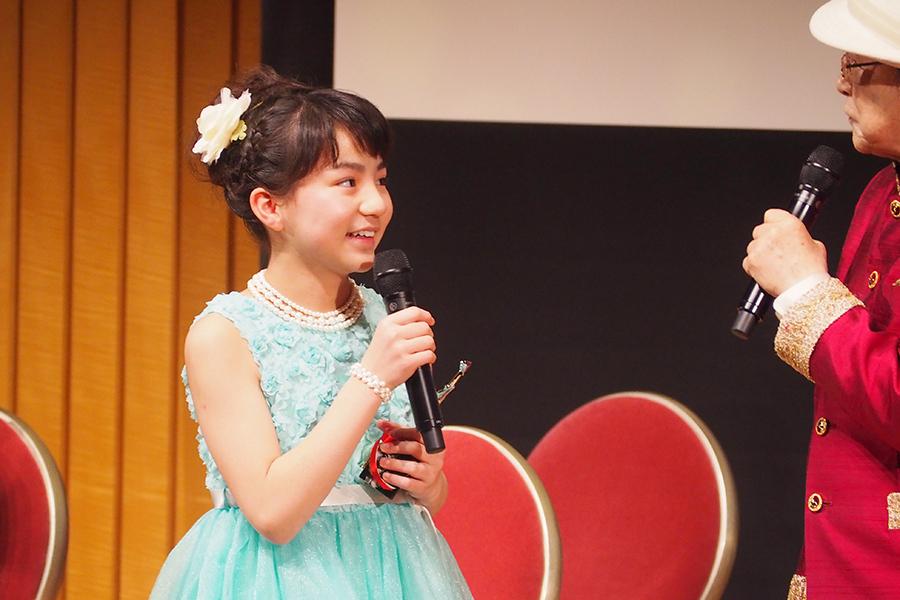 『おおさかシネマフェスティバル2019』で新人女優賞に輝いた平尾菜々花(3日・大阪市内)