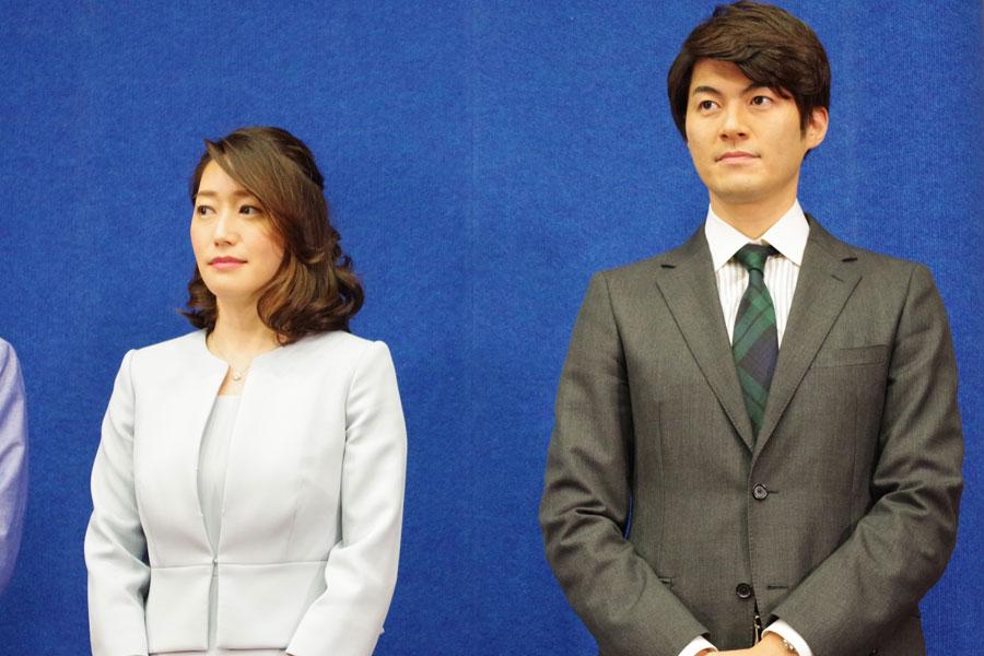 朝のニュース番組『おはよう関西』を担当する牛田茉友アナ(左)と狩野史長アナ