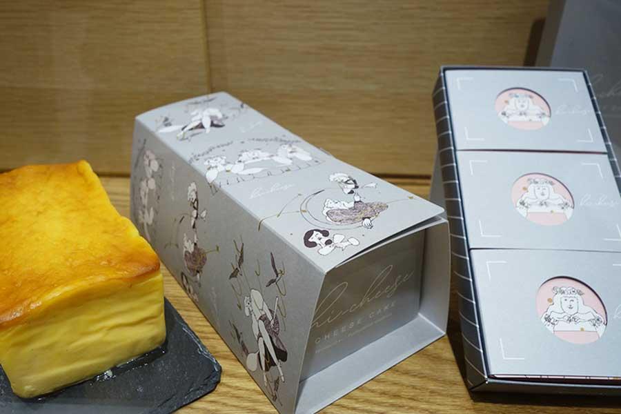 「ハイチーズ」はホールタイプも。イラストレーターのナガノチサトさんが、すべてのイラストを手掛けている