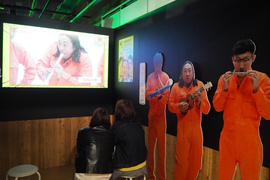 会場でしか観ることができない映像も多く、来場者は時間をかけて企画展を楽しんでいた