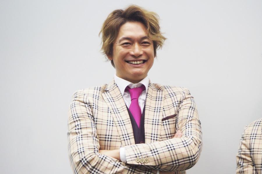 3日間、大阪公演を開催する新しい地図。香取は「僕のこの体型は粉モンでできてますから」と大阪グルメを堪能することを宣言(6日・大阪市内)