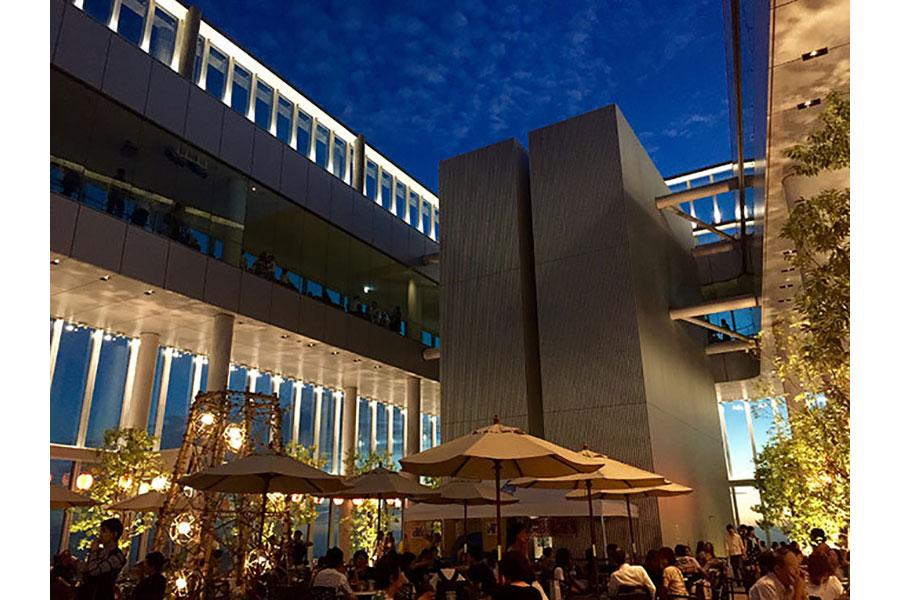 「あべのハルカス展望台」(大阪市天王寺区)内に位置する、「スカイガーデン300」