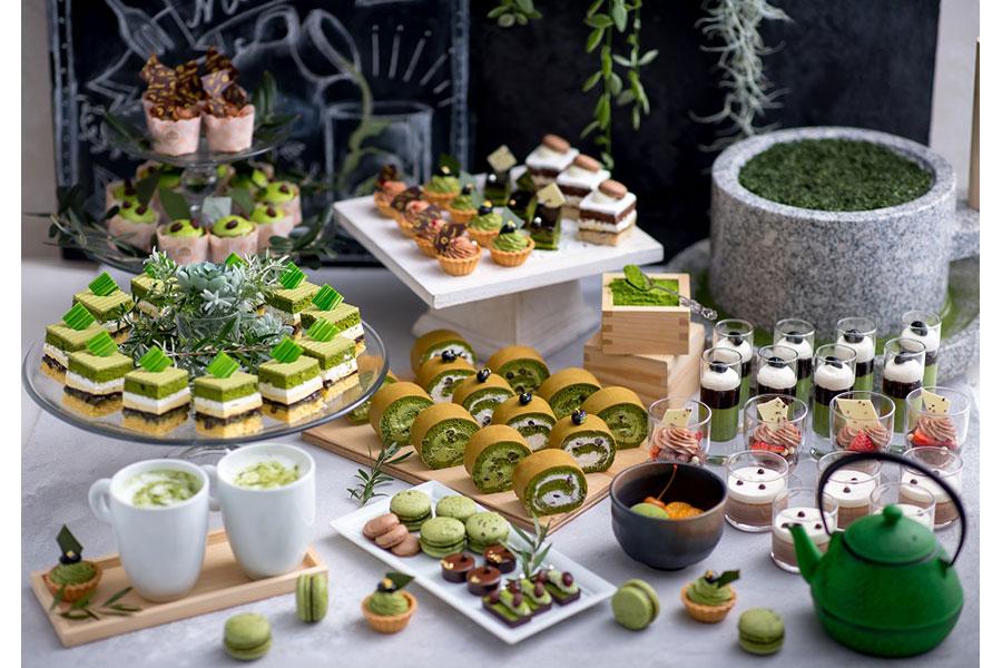 『スイーツ&サンドウィッチビュッフェ ~抹茶とチョコのおもてなし~』に登場するスイーツ