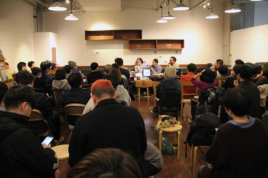 3月31日に開催されたイベント『8時間耐久トーク』には、同店に思い入れのある多くの客が集まった