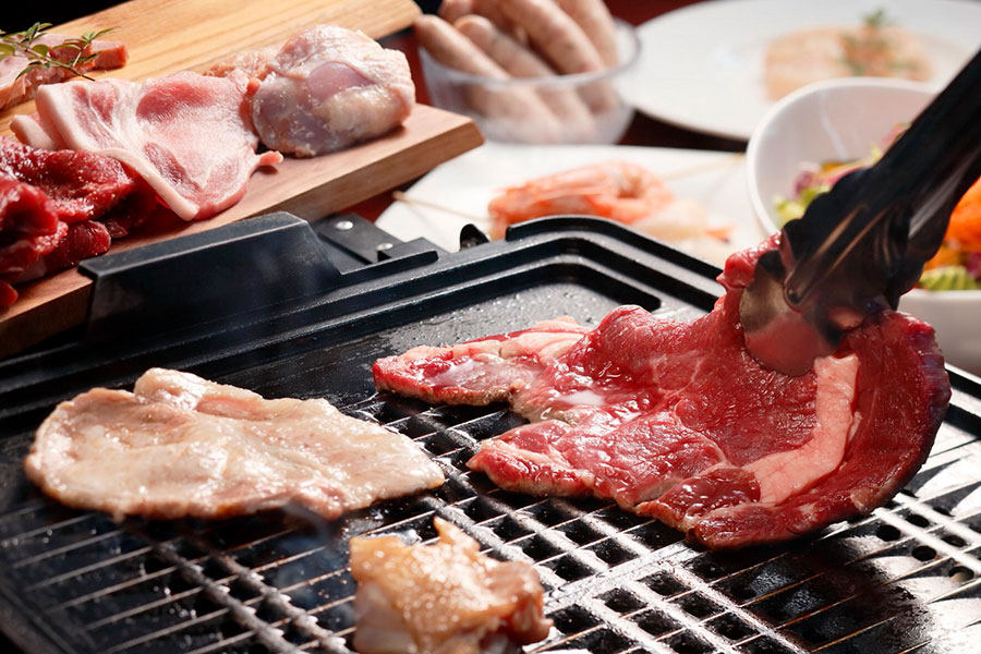「THE BBQ」プランのイメージ