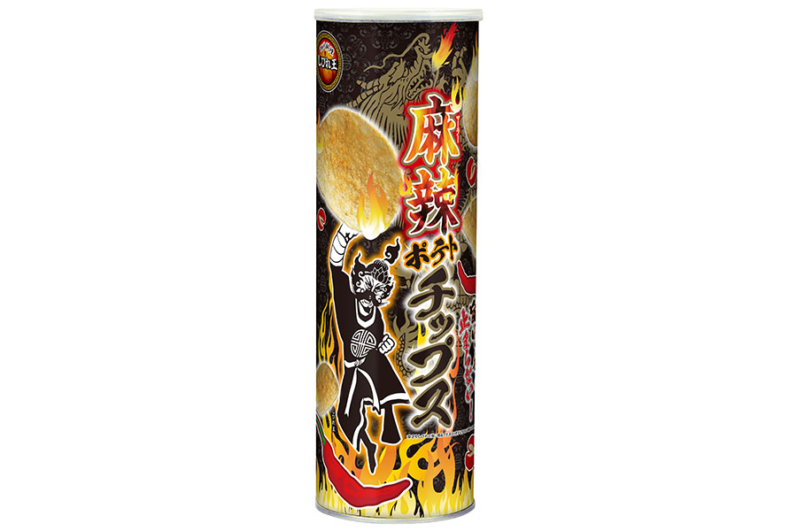 四川料理しびれ王 麻辣ポテトチップス 110g(オープン価格)
