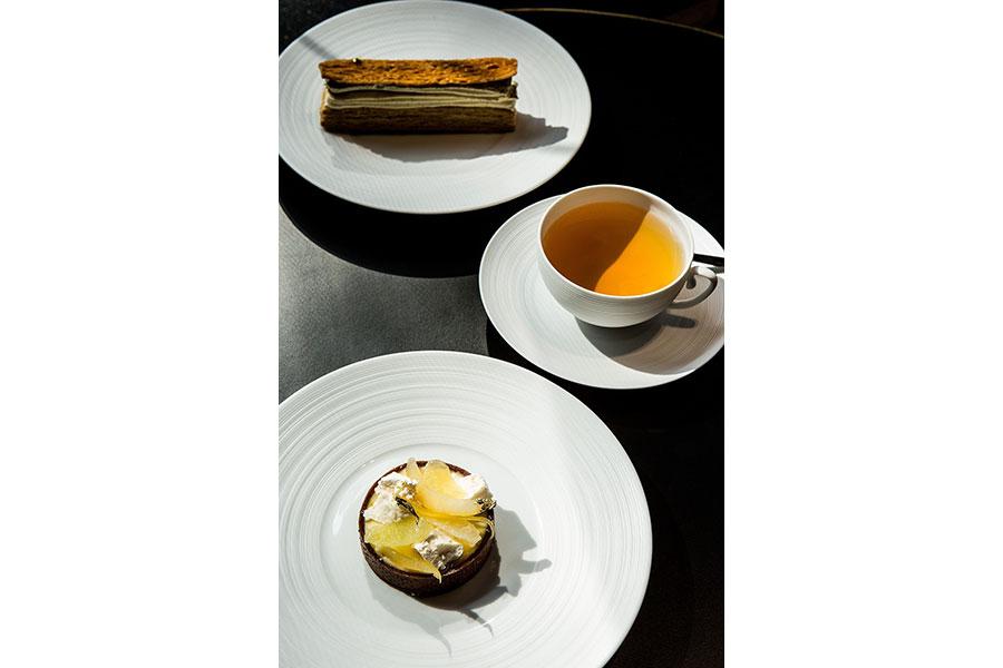 「フォション・ロテル・パリ」で提供されたスイーツのイメージ