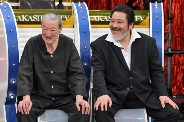左から、太秦俳優の山口幸晴さん、悪役俳優の海道力也さん 写真提供:MBS