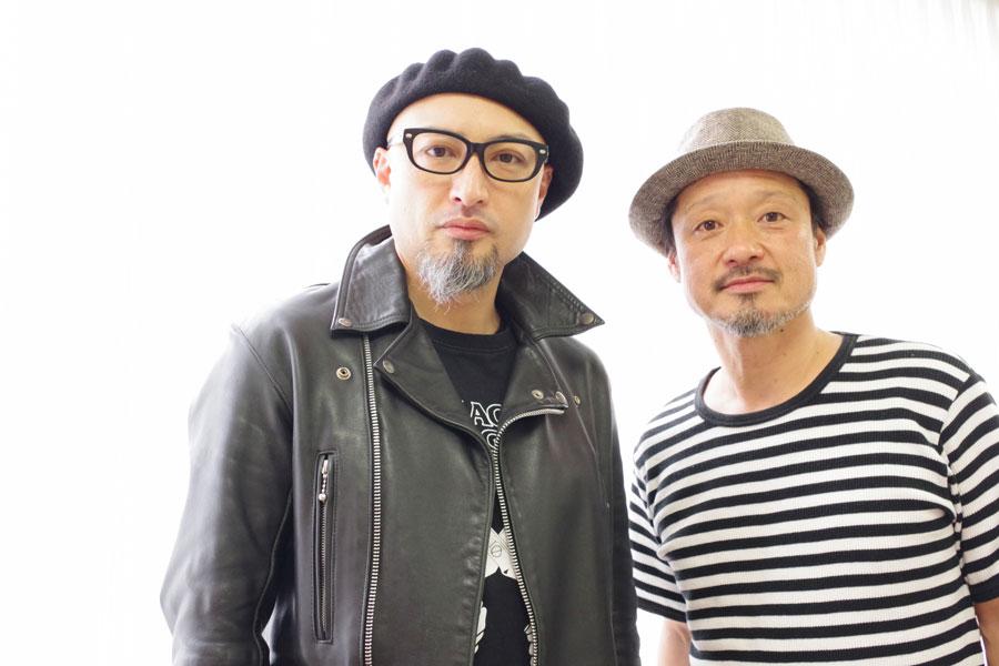 大阪出身で俳優の山内圭哉と福田転球の2人によるユニット公演『2Cheat』が上演される
