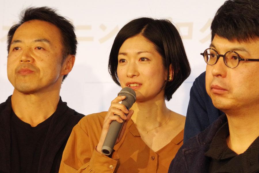 「今回はフィリピンの劇団ペタと国際共同制作。この街だからこその作品になれば」と演劇グループ・BRDGの山口惠子