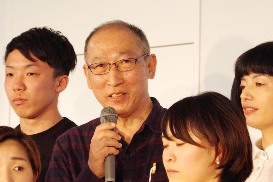 「数年ぶりに演劇の世界に戻ってきた」という若だんさんと御いんきょさんの田村哲男