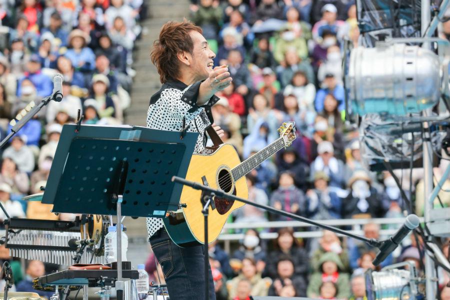 コラボライブ『風のハミング』には第1回から出演している馬場俊英(27日・大阪市西区)