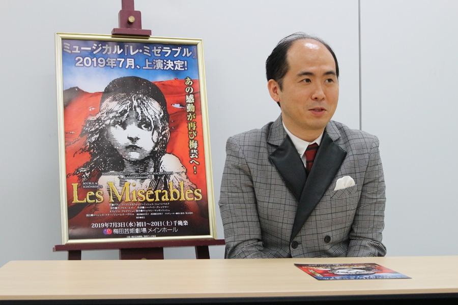 「デビュー作と呼ぶには十分すぎる作品なので、ここで結果をちゃんと残して、ミュージカルもできる漫才師になりたい」と意気込む斎藤司
