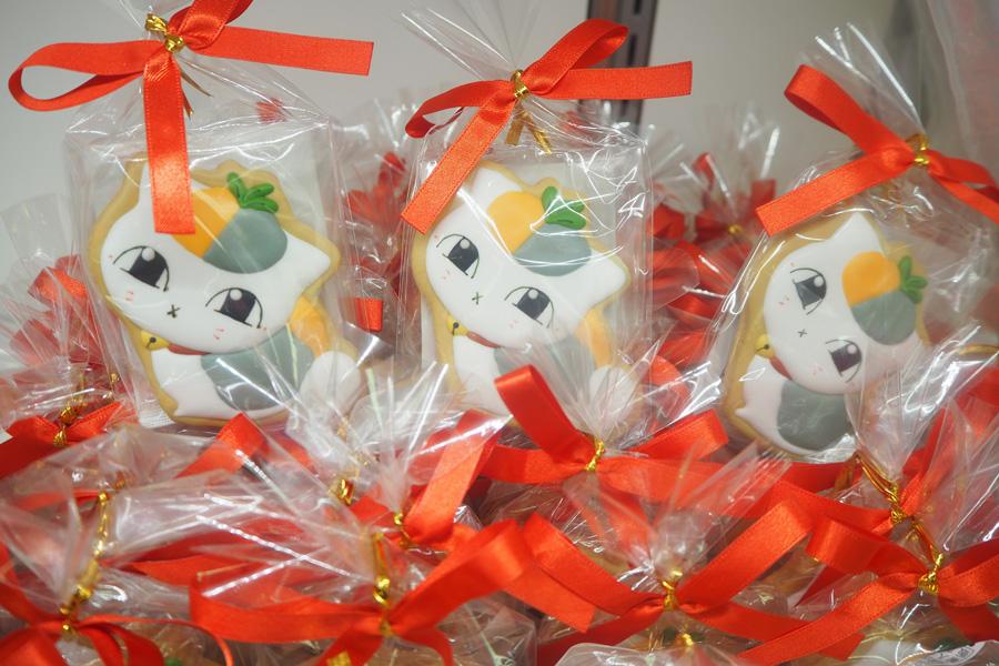 「アイシングクッキー トリプルニャンコ先生(3号)」(550円・税別)