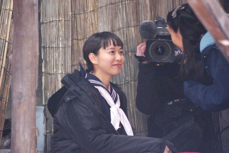 ヒロイン・川原喜美子の中学生時代を演じる戸田恵梨香