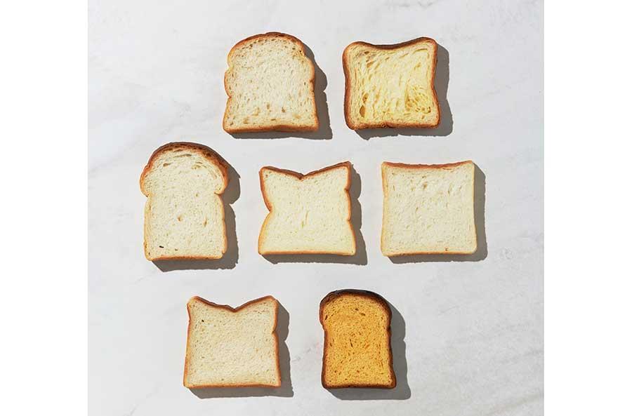 「食パン1枚売りマルシェ」では、京都・木津川のパネッテリア ブルチーノ、大阪・千林大宮のパンドグロワールなどの食パンを販売(枚数限定)