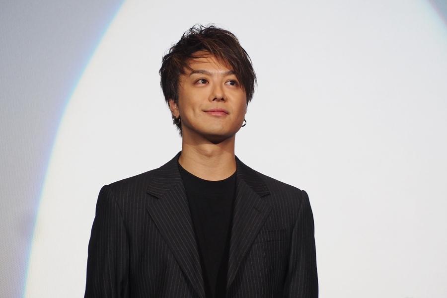 「エンターテイメントしすぎてない映画も好きなので、光栄だった」と話すTAKAHIRO(7日・大阪市内)