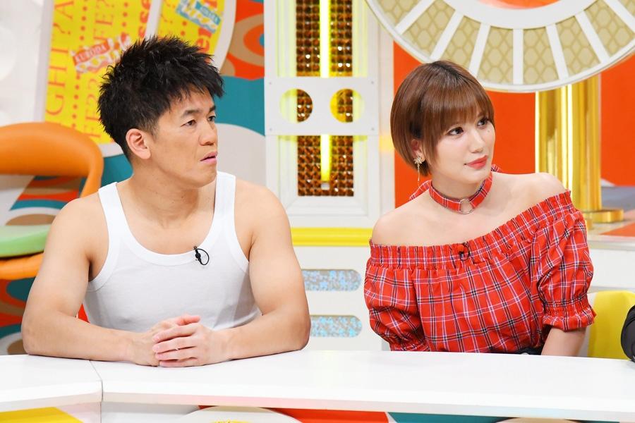 (左から)武井壮、佐藤エリ