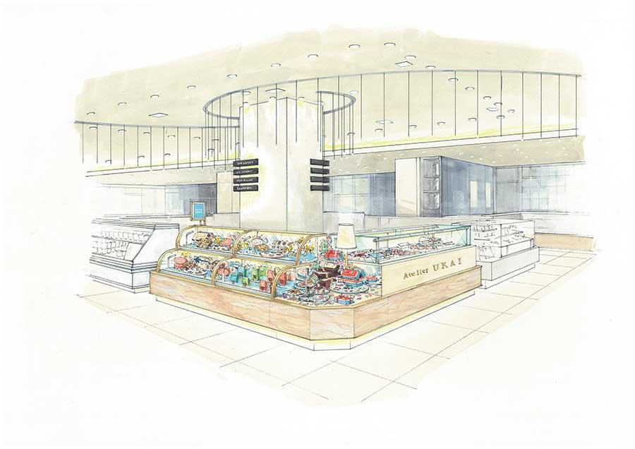 店舗のイメージ図