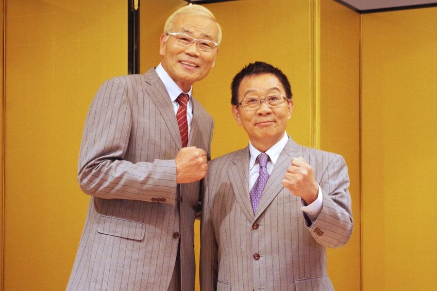 令和元年・春の紫綬褒章を受章したオール阪神・巨人の2人