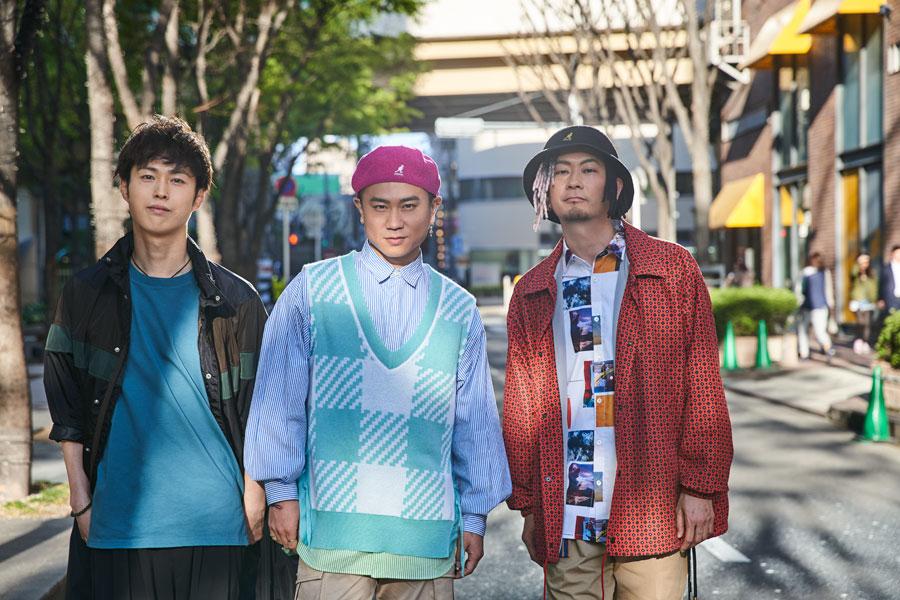 DAPUMP(左から)YORI、KIMI、TOMO