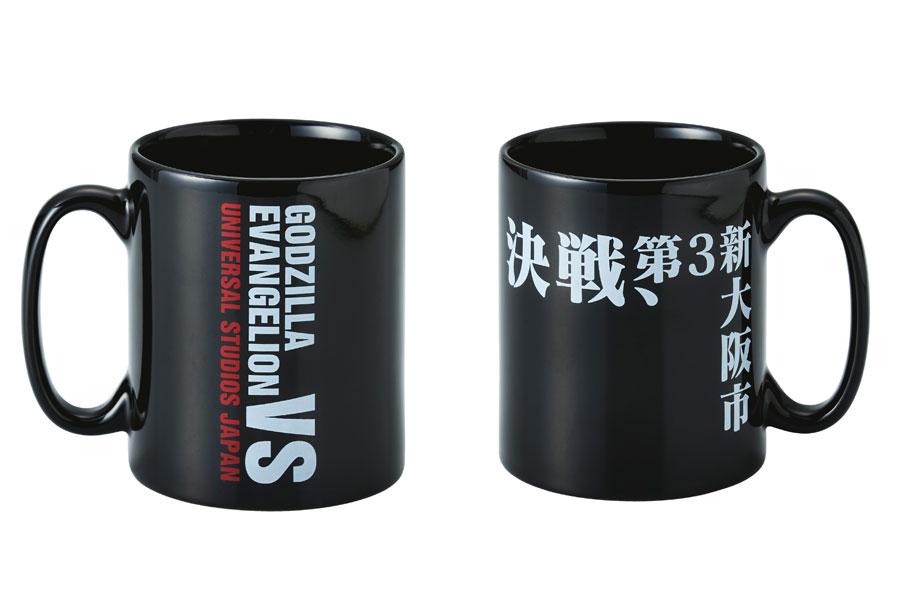 シンプルな活字×ロゴのデザインがかっこいいマグカップ
