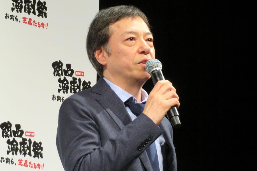関西演劇祭フェスティバル・ディレクターを務める板尾創路
