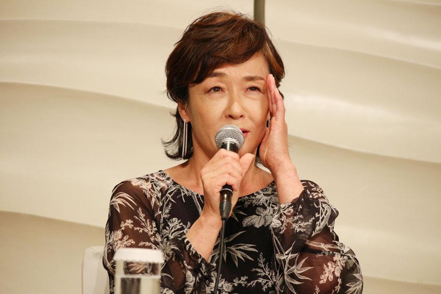 舞台『三婆』に出演するキムラ緑子
