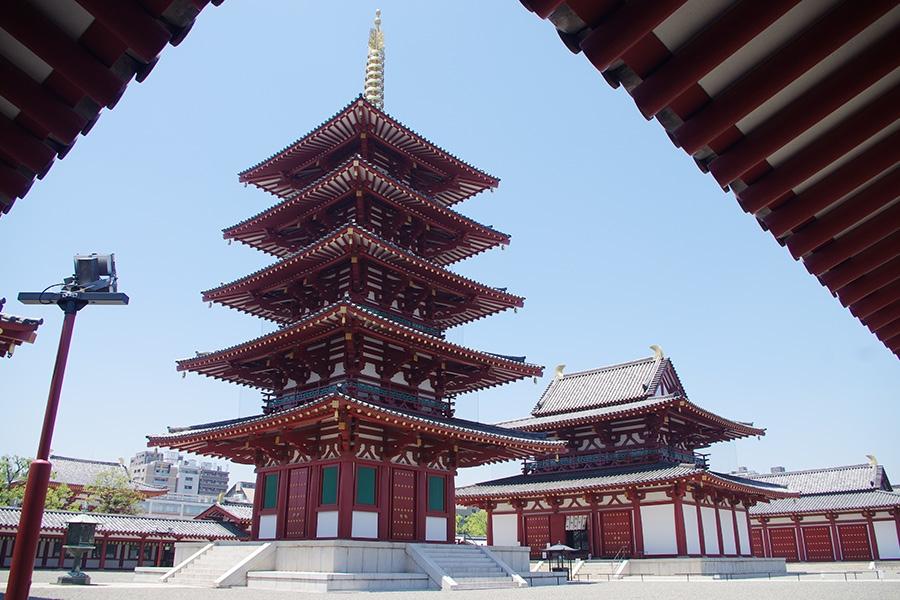 日本仏法最初のお寺、和宗総本山「四天王寺」