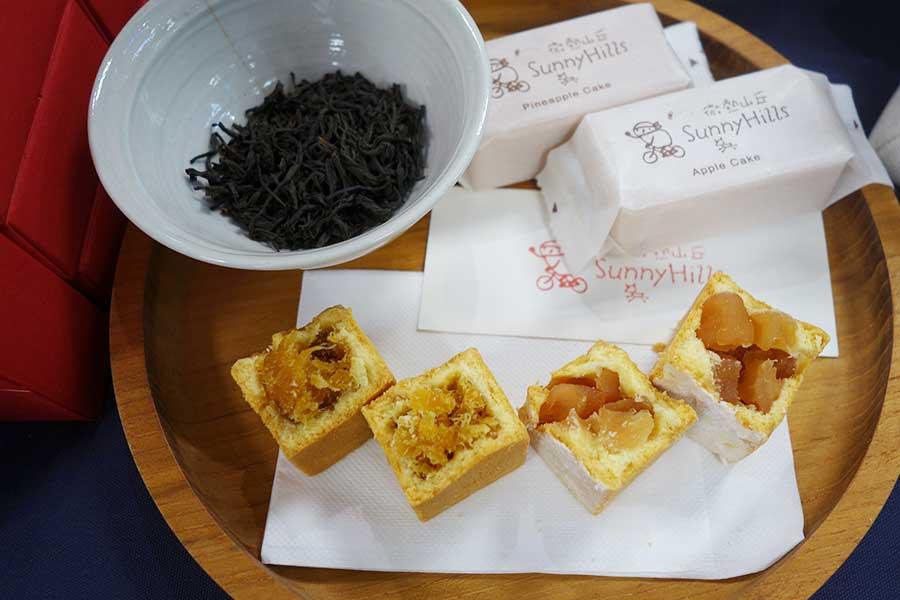 日本でも大人気のパイナップルケーキ、サニーヒルズの販売も