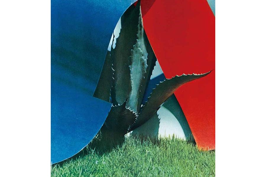 《アブストラクト青と赤》1960年 写真集『遠近』(1962年)より