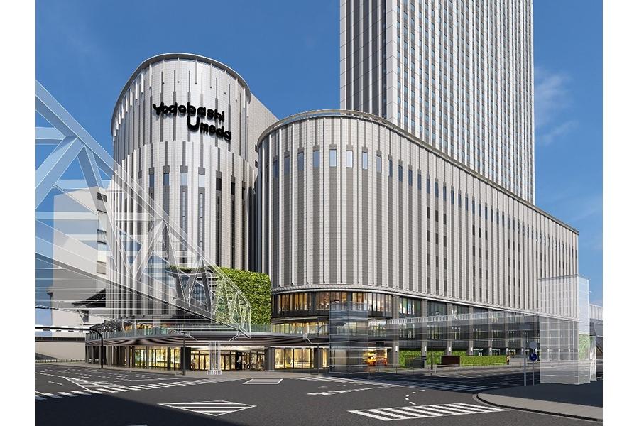 「ヨドバシ梅田タワー」の外観イメージ