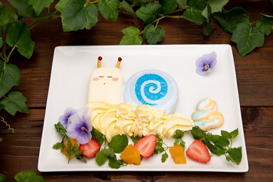 「かたつむりさんとの遭遇パンケーキ」(1,290円)