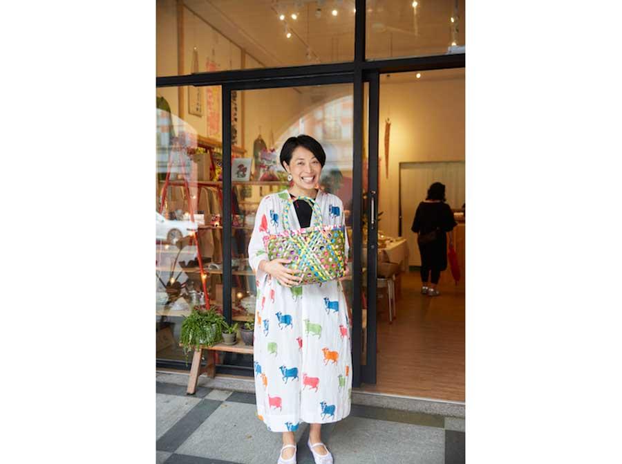 セレクトショップ「你好我好(ニーハオウォーハオ)」を営む青木由香さんは、トークショーもおこなう予定
