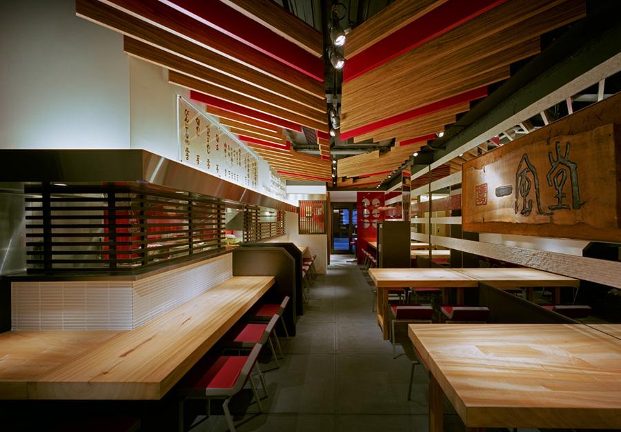一風堂大名本店(福岡市中央区)の店内イメージ