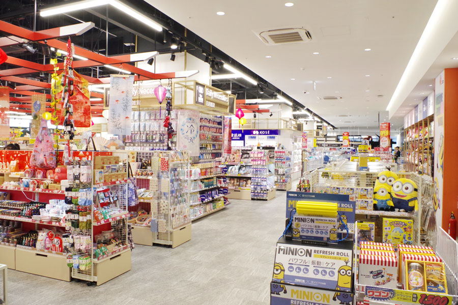8Fは免税店を中心にインバウンド向けの「トレジャーパーク」