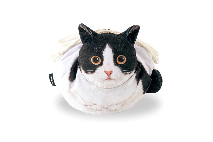 「白黒ハチワレ」のネコさん