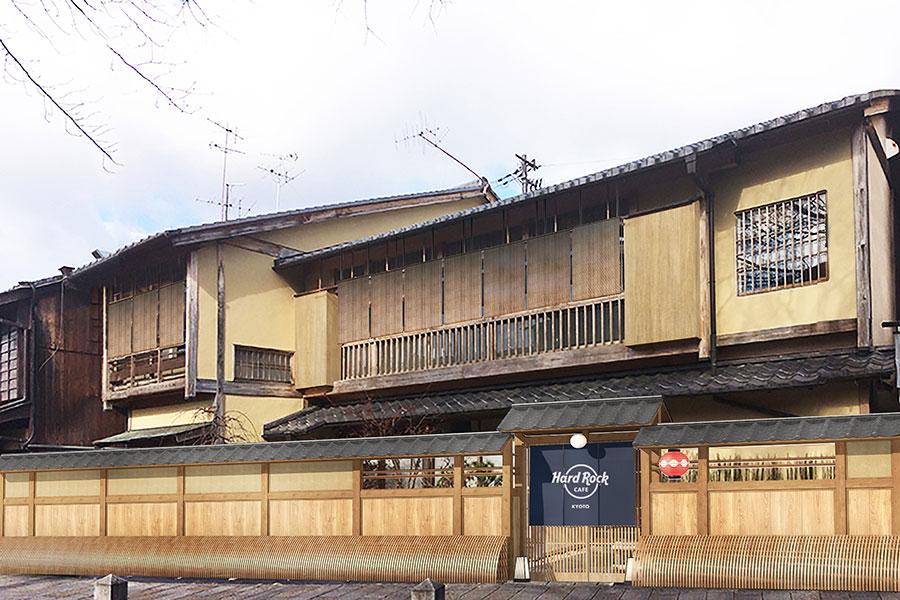 7月12日オープン、町家づくりの「ハードロックカフェ京都」