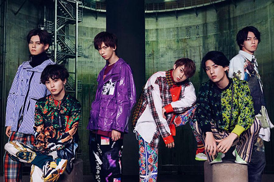 6人組ダンス&ボーカルグループ・超特急(メンバー左から、カイ、タクヤ、リョウガ、ユーキ、ユースケ、タカシ)