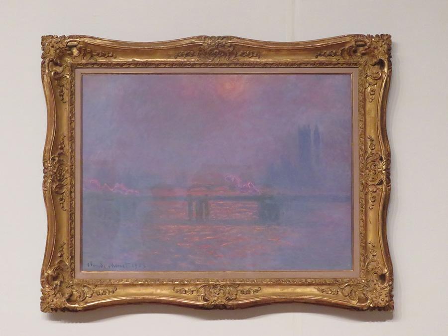 クロード・モネ《テムズ河のチャリング・クロス橋》1903年 油彩/カンヴァス 吉野石膏コレクション